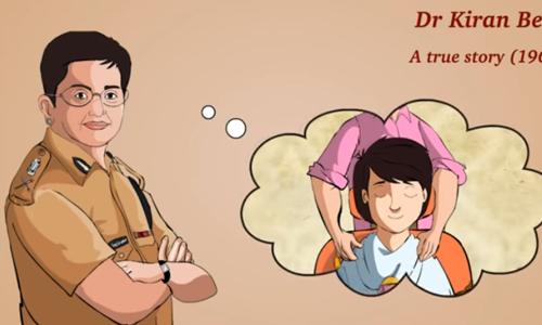 "Kiran Bedi, A Boy-Cut for Girls: Learn English (IND) – Story for Children ""BookBox.com"""