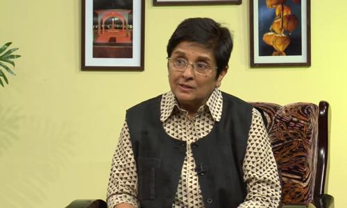 Ek Mulakat   Kiran Bedi , Lieutenant Governor of Puducherry