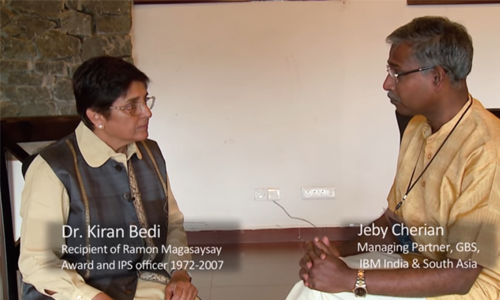 Kiran Bedi on the Qualities of a Good Leader – INSIGHT