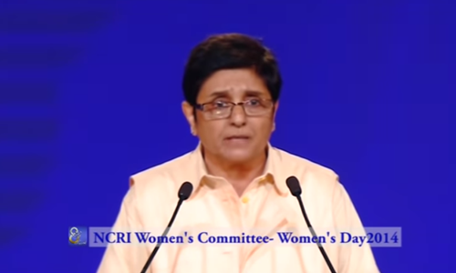 At International Women's Day Conference 2014, Paris