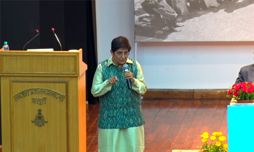 Never forget the real purpose for which you are appointed' – KIRAN BEDI