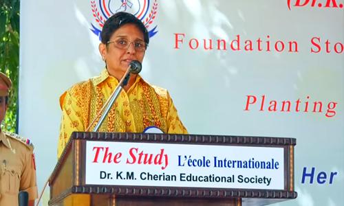 Speech of Dr. Kiran Bedi at Study School, Puducherry