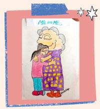 माँ और मैं