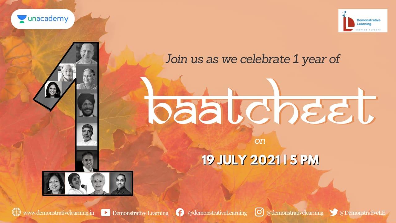 1 Year Of Baatcheet